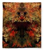 Abstract 177 Fleece Blanket