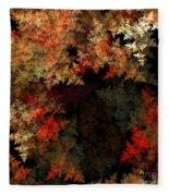 Abstract 179 Fleece Blanket