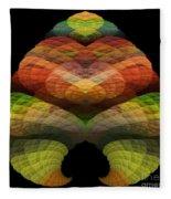 Abstract 201 Fleece Blanket