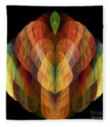 Abstract 202 Fleece Blanket