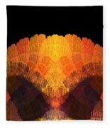Abstract 204 Fleece Blanket