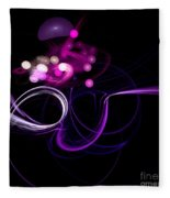 Abstract Eighteen Fleece Blanket
