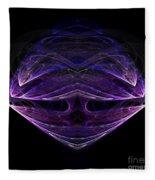 Abstract Eighty-one Fleece Blanket