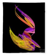 Abstract Fifty-four Fleece Blanket