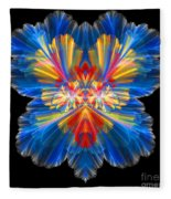 Abstract Forty-nine Fleece Blanket