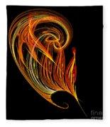 Abstract Ninety-three Fleece Blanket