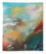 Abstract No 1 Fleece Blanket