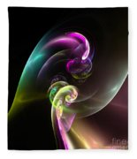 Abstract Seventy Fleece Blanket