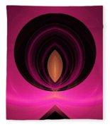 Abstract Twenty-five Fleece Blanket