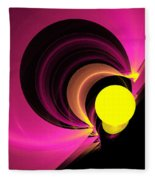 Abstract Twenty-four Fleece Blanket