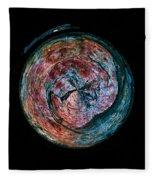Abstracts From Varikallio At Hossa Fleece Blanket