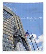 Adam Clayton Powell Jr Fleece Blanket