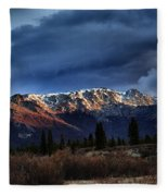 Alaskan Morning Fleece Blanket