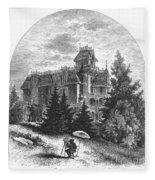 Albert Bierstadt (1830-1902) Fleece Blanket