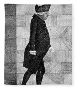 Alexander Monro II, Scottish Anatomist Fleece Blanket