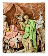 Alexander The Great And His Physician Fleece Blanket