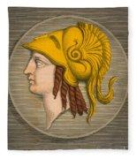 Alexander The Great, Greek King Fleece Blanket