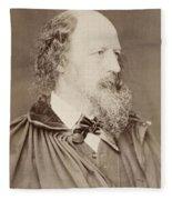 Alfred Tennyson Fleece Blanket