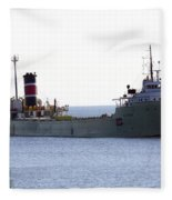 Alpena Ship Fleece Blanket