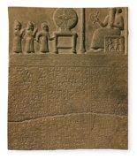 Ancient Astronomical Calendar Fleece Blanket