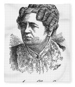 Ann Sophia Stephens Fleece Blanket