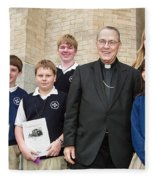 Archbishop Alex Brunett Fleece Blanket