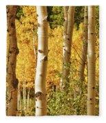 Aspen Gold Fleece Blanket