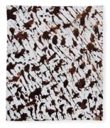 Aspen Mocha Latte Fleece Blanket