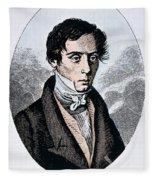 Augustin-jean Fresnel Fleece Blanket