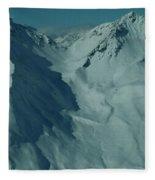 Austria Mountain Fleece Blanket