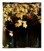 Autumn Evening  Fleece Blanket