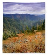 Autumn Whispers Fleece Blanket