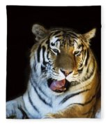 Awaking Tiger Fleece Blanket