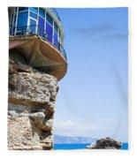 Balcon De Europa In Nerja Fleece Blanket