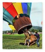 Balloonist - Ready For Takeoff Fleece Blanket
