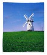Ballycopeland Windmill, Millisle Fleece Blanket