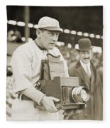 Baseball: Camera, C1911 Fleece Blanket