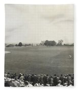 Baseball Game, 1904 Fleece Blanket