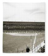 Baseball Game, C1912 Fleece Blanket