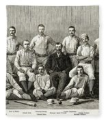 Baseball: Providence, 1882 Fleece Blanket