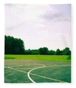 Basketball Court Fleece Blanket