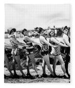 Bathing Beauties, 1916 Fleece Blanket