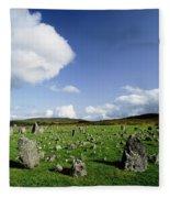 Beaghmore Stone Circles, Co. Tyrone Fleece Blanket