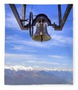 Bell In Heaven Fleece Blanket