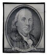 Ben Franklin Fleece Blanket