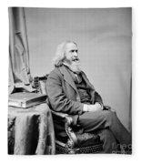 Benjamin Peirce, American Mathematician Fleece Blanket