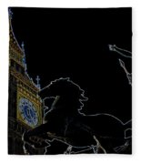Big Ben And Boudica Fleece Blanket