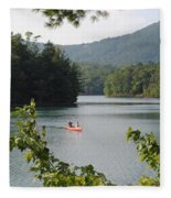 Big Canoe Fleece Blanket