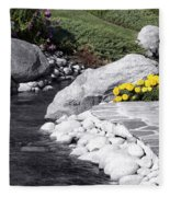 Bishop Creekside Fleece Blanket