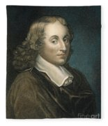 Blaise Pascal (1623-1662) Fleece Blanket